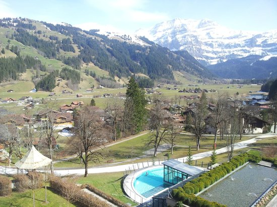 Lenkerhof gourmet spa resort: Tolle Aussicht