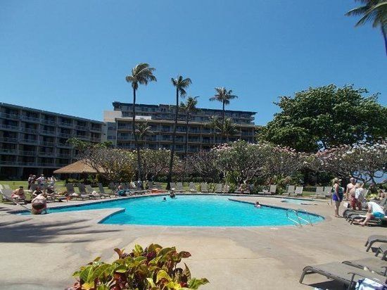 Kaanapali Beach Hotel : Pool area