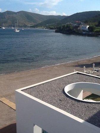 Patmos Aktis Suites & Spa: ο κόλπος του γροίκου