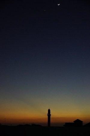 Maru Maru Hotel: Звезда, полумесяц. мечеть