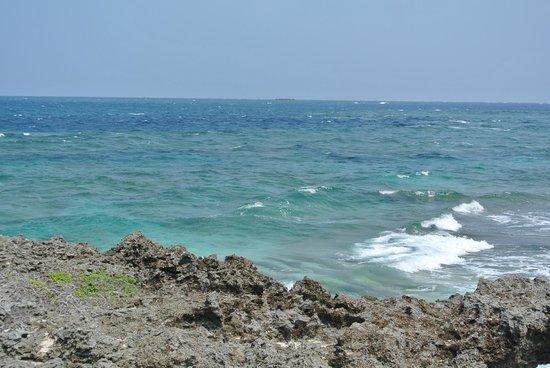 Kudakajima Island: holy seacoast