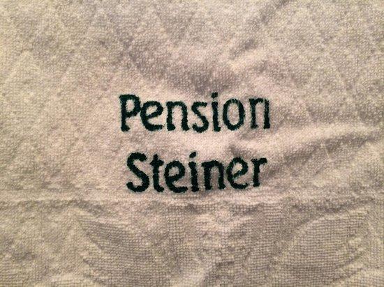 Pension Steiner: asciugamani