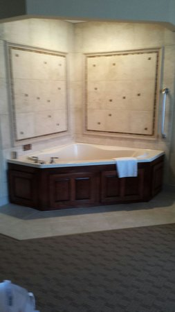 Hampton Inn & Suites Youngstown - Canfield : King suite with sauna tub