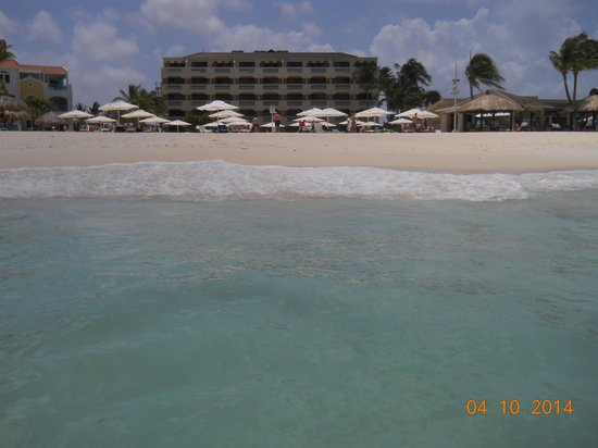 Bucuti & Tara Beach Resort Aruba: View from water