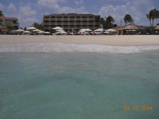 Bucuti & Tara Beach Resort Aruba: View from water