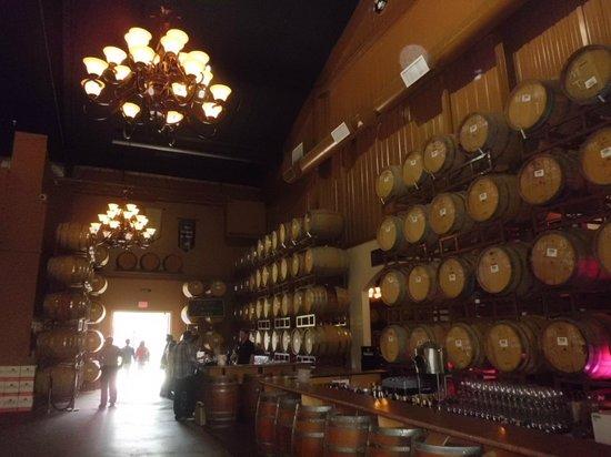 Wilson Creek Winery : Area de degustacao