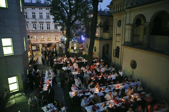 JCC Krakow: Dinner during the Jewish Culture Festival