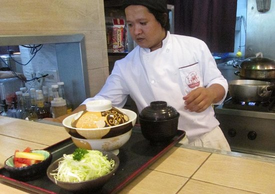 Ginza Bairin : Chef prepares meticulously