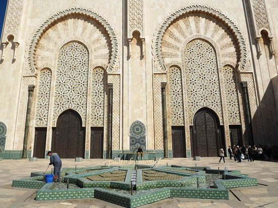Mosquée Hassan II : outside beauty