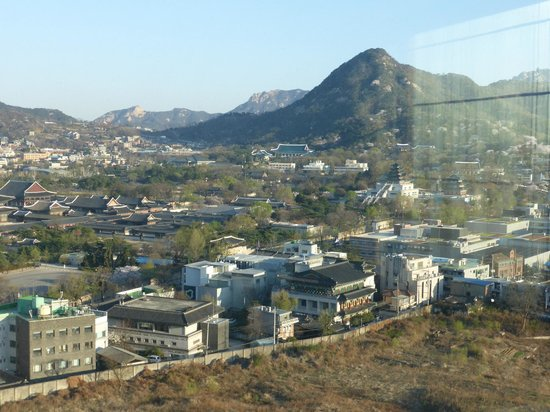 Somerset Palace Seoul : View from Living Room