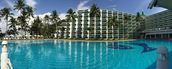 Le Meridien Phuket Beach Resort: Whattaview!