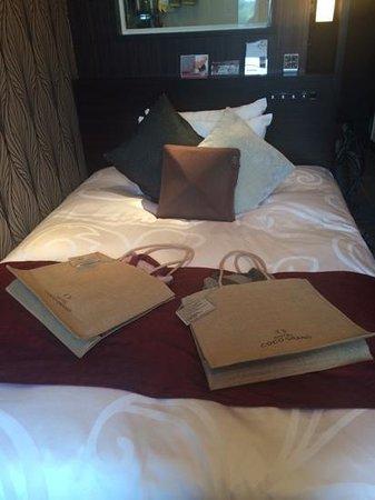 Hotel Coco Grand Ueno Shinobazu : tiny but perfect room!