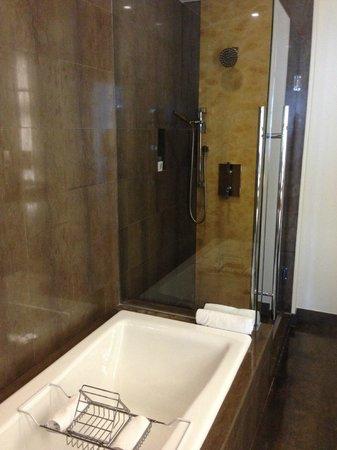 JW Marriott Marquis Miami: shower