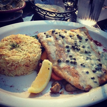 Terra Mediterranean: Trout dish. DELICIOUS.