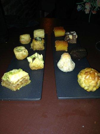 Ziryab Vinos y Tapas Fusio: Very nice desserts