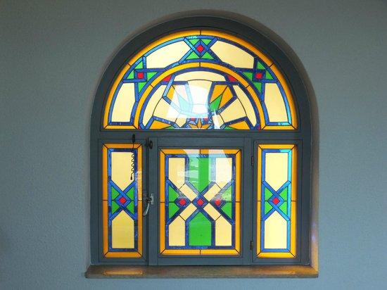 Riad Perle d'Eau : Window onto the interior courtyard