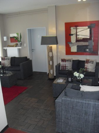 Arthotel Bakker: Lounge mit kostenloses W-Lan
