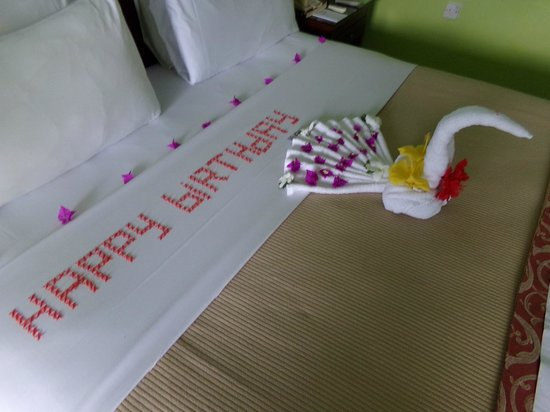 Bay Gardens Hotel: Took some time and effort,nice touch