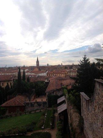 Palazzo Giardino Giusti: Панорамный вид