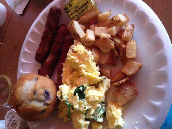 Arizona Riverpark Inn: Breakfast!