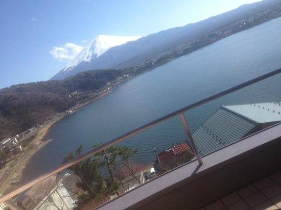 Mizuno Hotel: Greetings from Mt Fuji 1