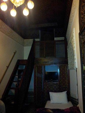 Riad Rcif : Habitación triple