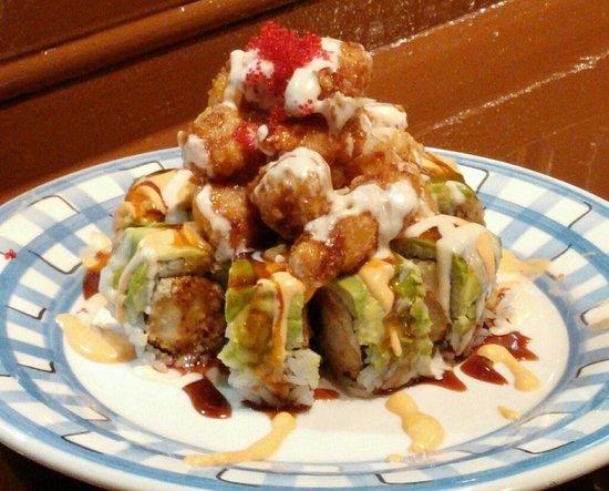 Paradise roll! -tempura lobster heaven! - Picture of Sushi Ninja, Brandon - TripAdvisor