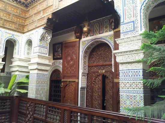 Riad Rcif : Patio interior