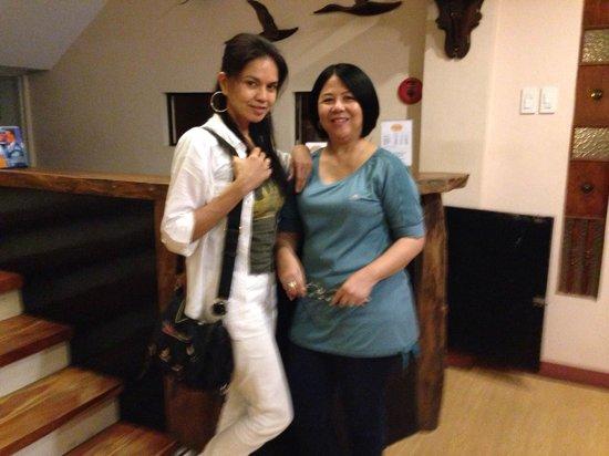 Bahay Ni Tuding Inn: With the great granddaughter of Tuding, who conducts the Mel's Davao Food Tour- Ms. Mel Pangan !
