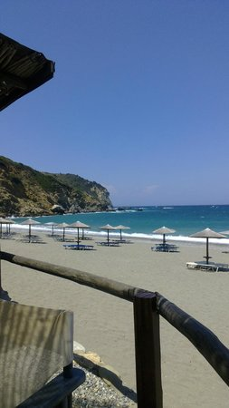 Skiathos, Greece: vista dal bar