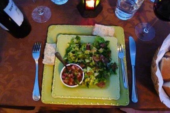Riad Les Nuits de Marrakech: moroccan salad