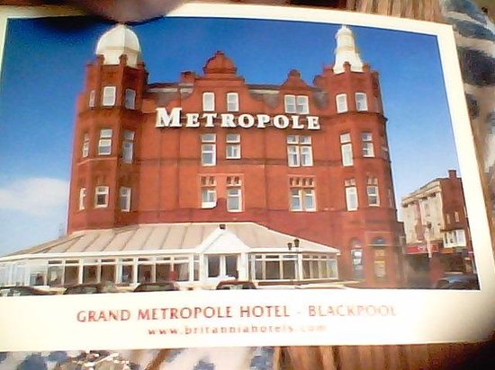 Grand Metropole Hotel: the hotel we stayed in