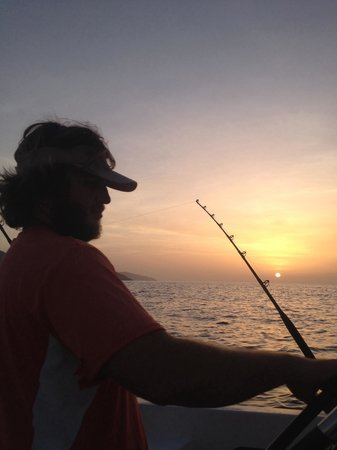 Jade Hook Charters: Capt Ryan like to set off early but it's a beautiful time on St Croix