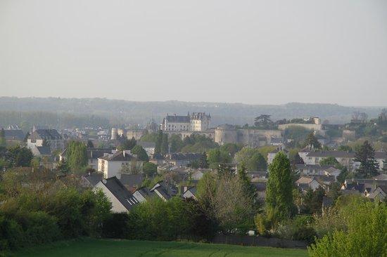 Novotel Amboise : vue de notre chambre