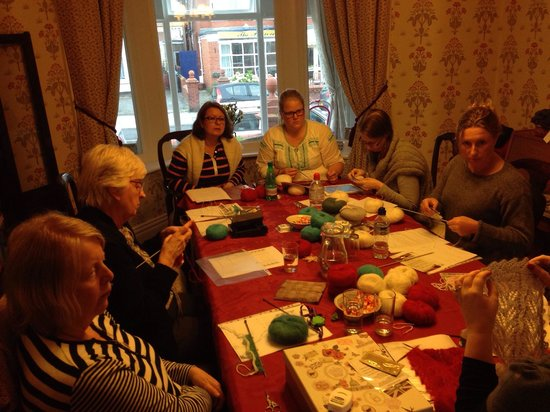 Knitting Holidays Blackpool : Knitting holiday review of westcliffe hotel blackpool