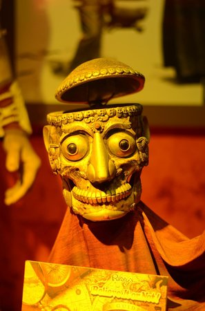 Ripley's Believe It or Not: Tibetan ornament of human bones