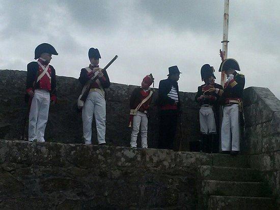 Castillo de San Felipe: Representacion en Semana Santa 2014