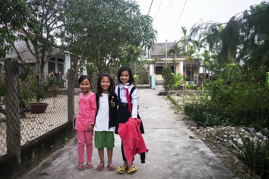 An Bang Seaside Village Homestay: Lovely locals