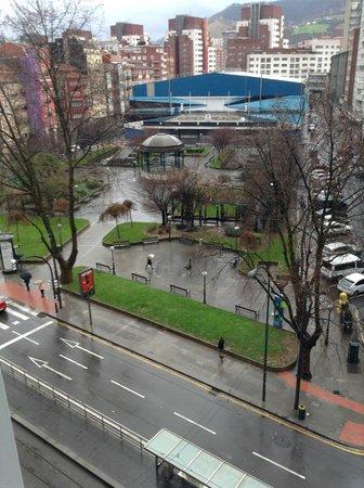 Hotel Zenit Bilbao : Vista desde o quarto