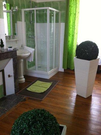 Le Chene Vert: salle de bain