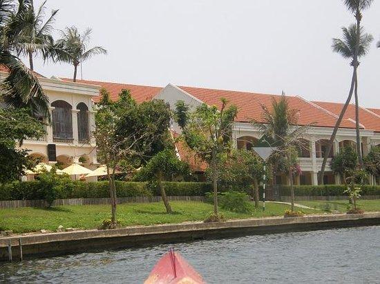 Anantara Hoi An Resort : Anantara from the water