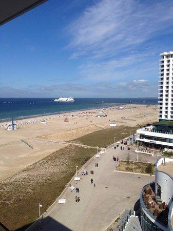 a-ja Warnemuende. Das Resort.: Blick vom Balkon