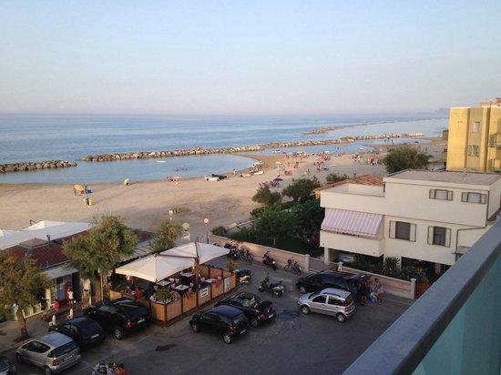 Hotel Caraibi : Vista mare