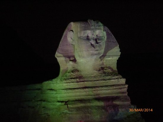 Sound and Light Show : Sphinx
