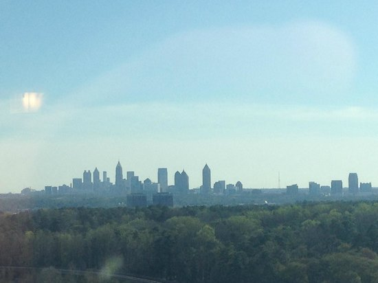JW Marriott Atlanta Buckhead: View of the Atlanta Skyline