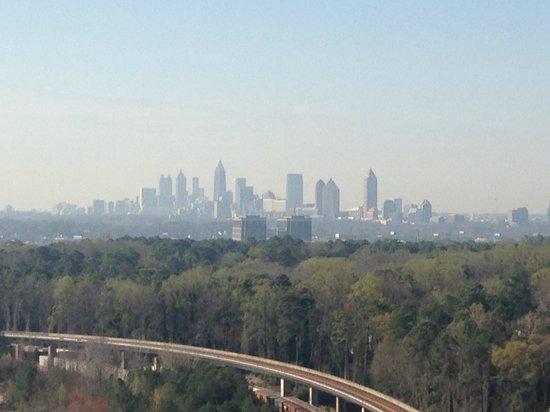 JW Marriott Atlanta Buckhead: Close to the MARTA Rail