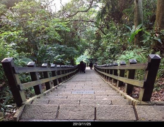 Elephant Mountain (aka Nangang District Hiking Trail): The stair