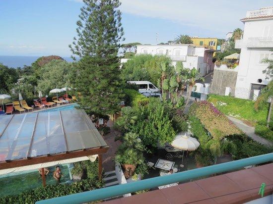Hotel Terme La Pergola: view from balcony
