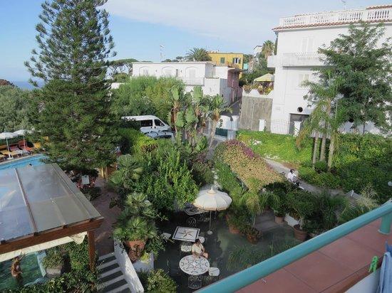 Hotel Terme La Pergola : view from balcony