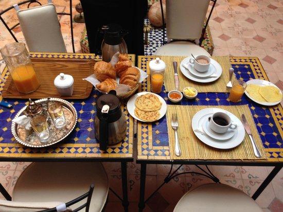 Riad BenSaid : Petit déjeuner